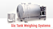 Six Tank Weighing Systems