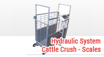 Hydraulic System Cattle Crush - Scales