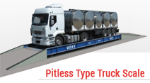 Pitless Type Truck Scale