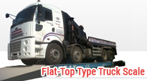 Flat-Top Type Truck Scale
