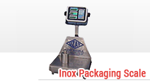 Inox Packaging Scale